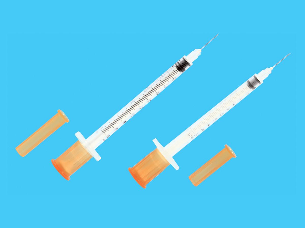 一次性使用無菌胰島素注射器