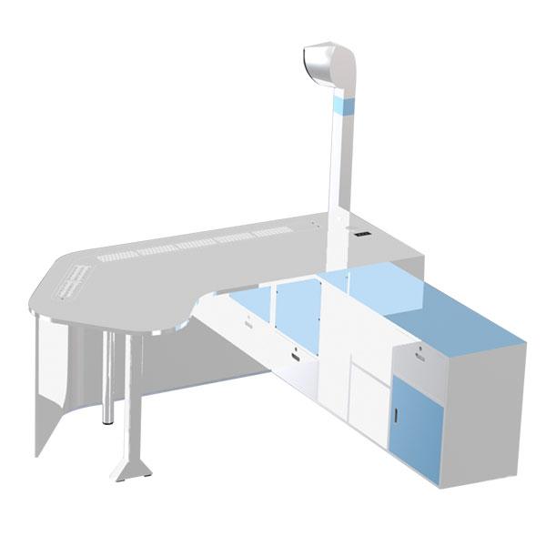隔離診療桌SADY-GLZB
