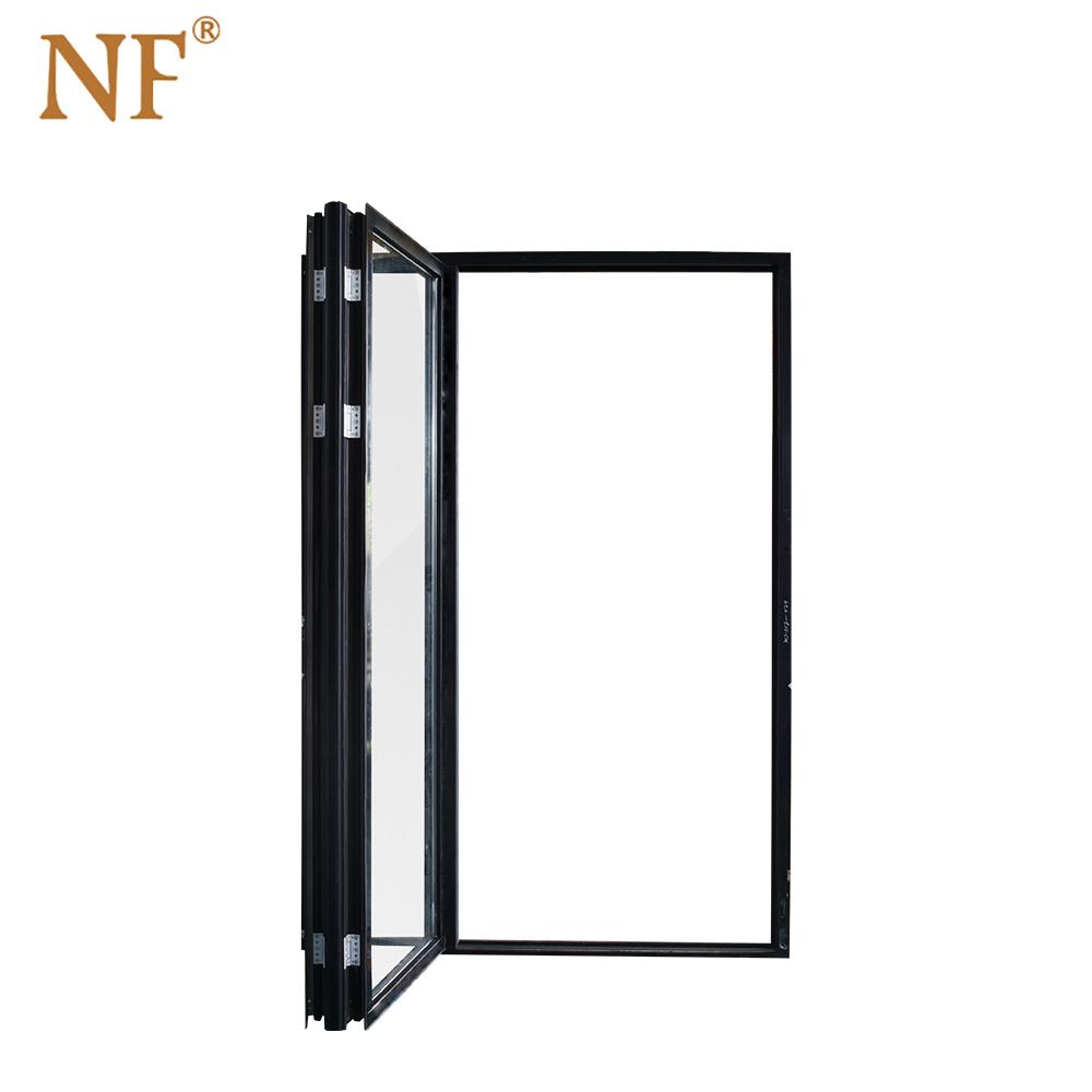 黑色折疊窗2+0