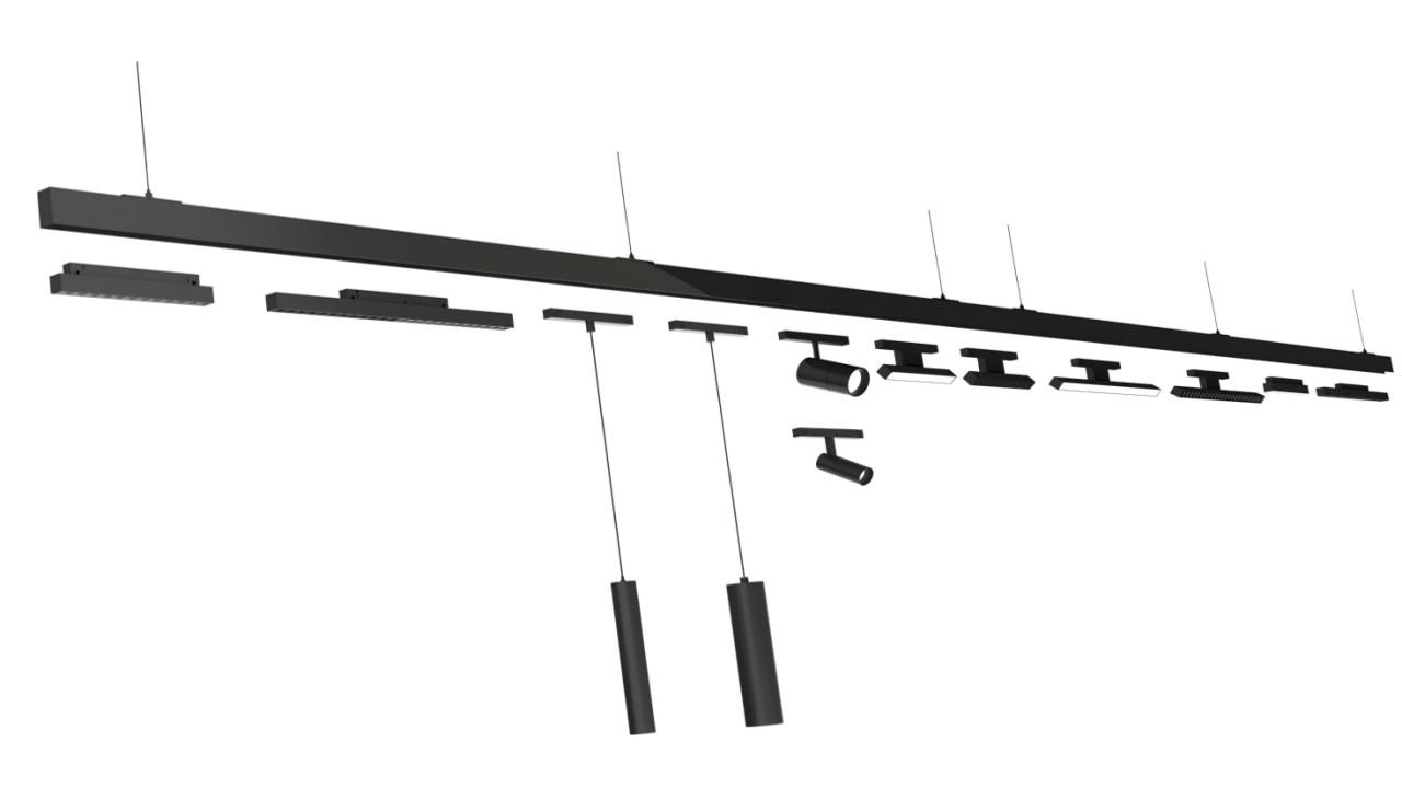 靈動系列低壓磁吸軌道系統