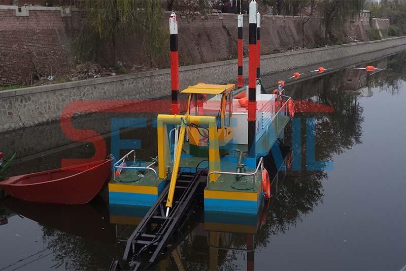 城市清淤固化船