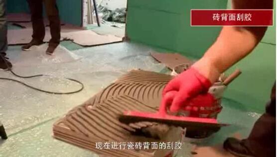 正確施工,高效利用瓷磚膠