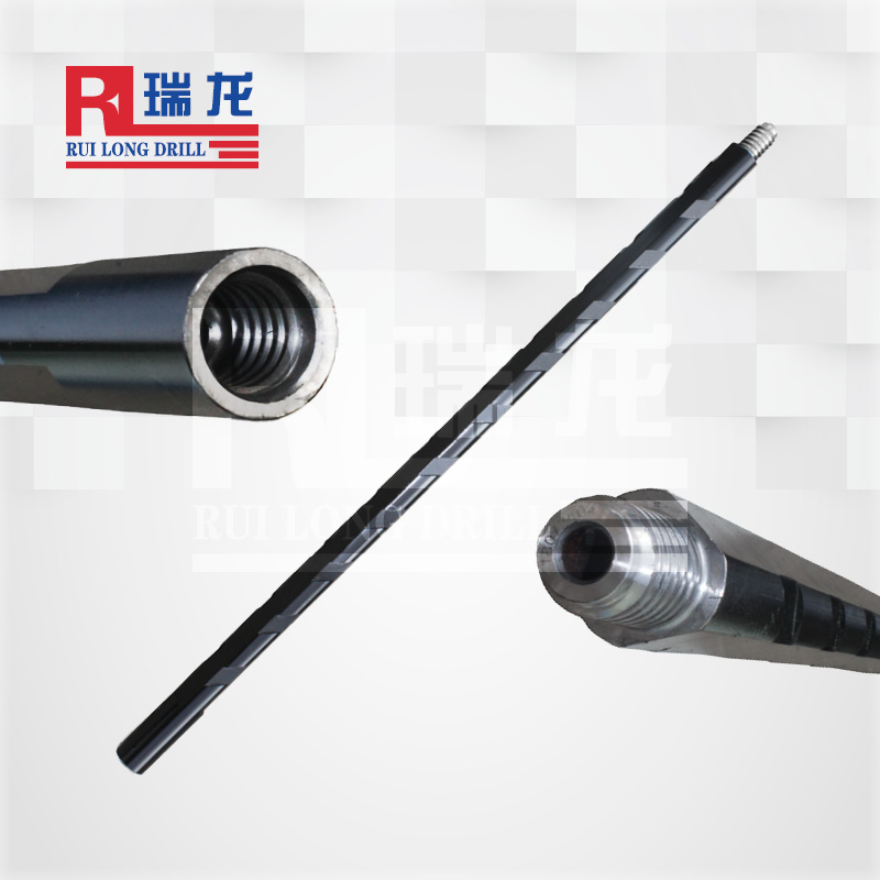 φ42-30-6.35-1000异型多棱刻槽钻杆——瑞龙钻具可定制