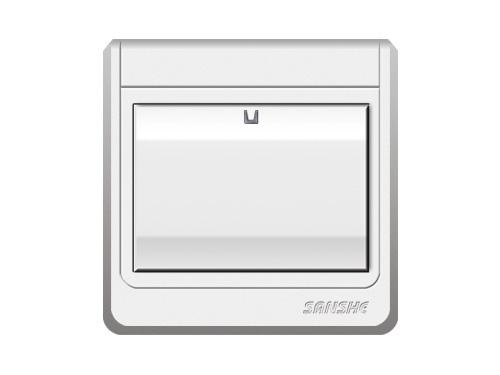 S-A6.0 一位單(雙)控大按鈕開關