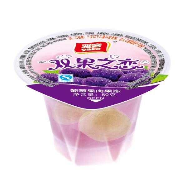 80g双果之恋果肉果冻 葡萄