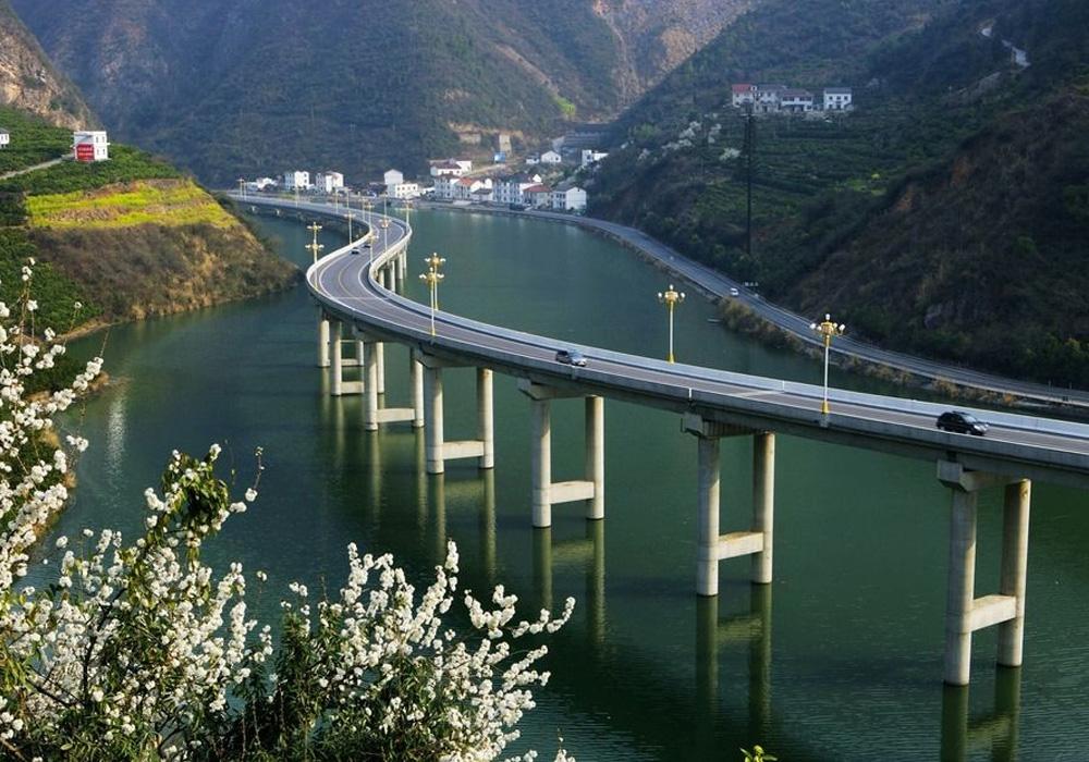 興山縣最美水上公路景觀綠化項目
