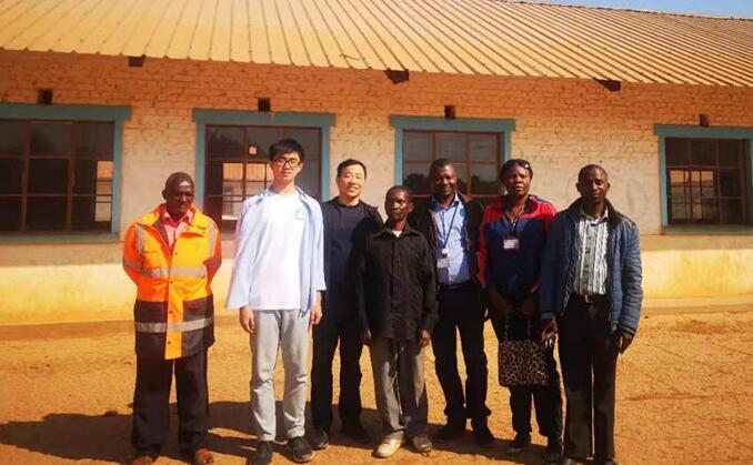 Hanrui metal continues to follow up Katebi II school public welfare project