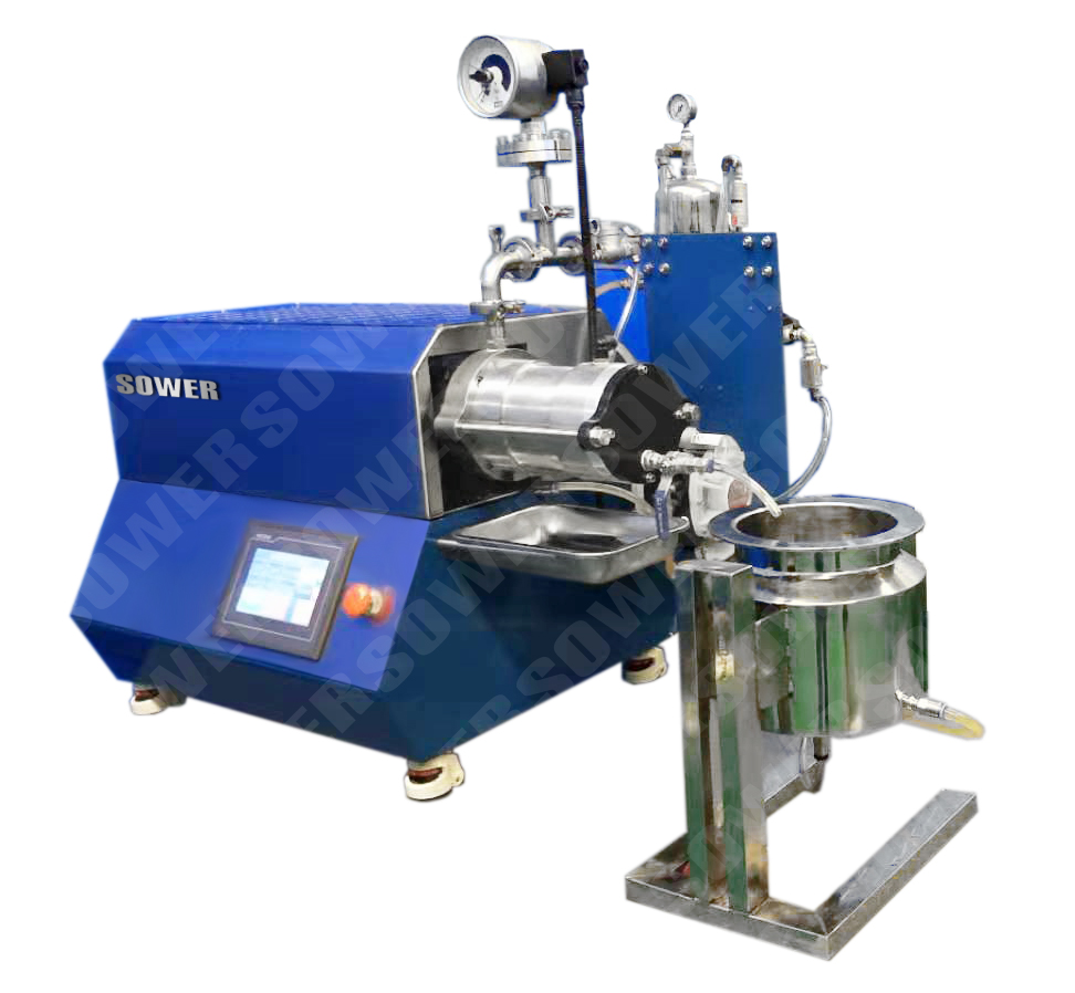 lab mill (Output fineness: reach to 400nm)