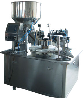 FO 10-50 Ointment filling & sealing machine