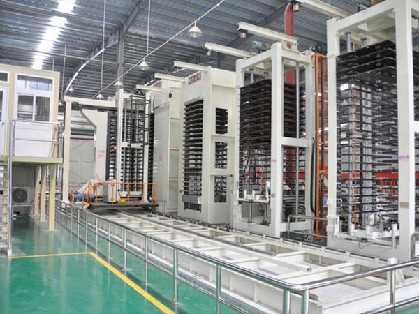 1000T-20 layer copper plate vacuum press