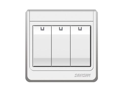 S-A6.0 三位單(雙)控大按鈕開關
