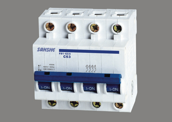 FS1-63/4P 塑料外殼斷路器