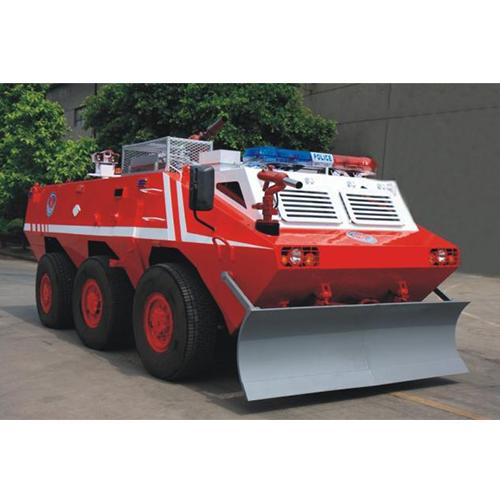 6×6輪式裝甲消防車泵水與噴淋降溫系統及制動系統