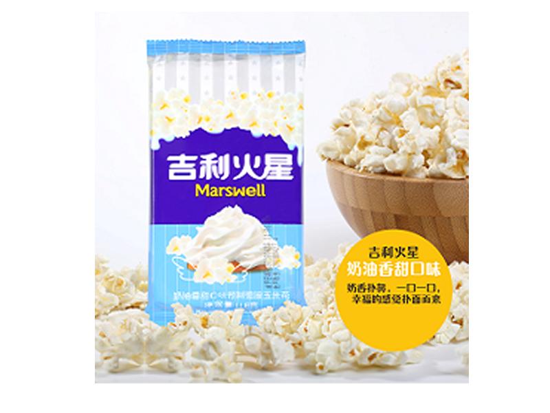 预制微波玉米花奶油香甜口味118g