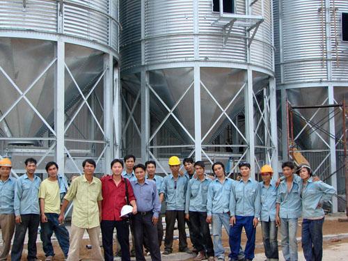 2010年越南安裝照片