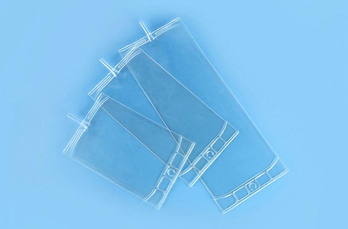 Single tube infusion bag