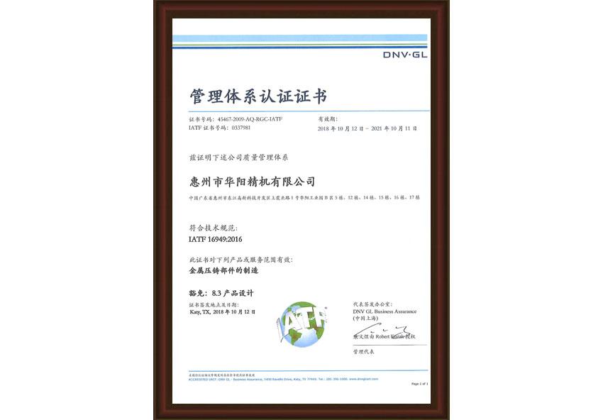 IATF 169492016 (中)