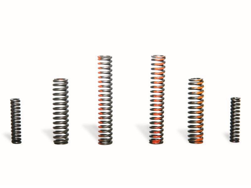Hydraulic torque converter spring