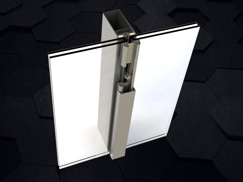 TBQ-38C層壓式防火玻璃隔墻/幕墻