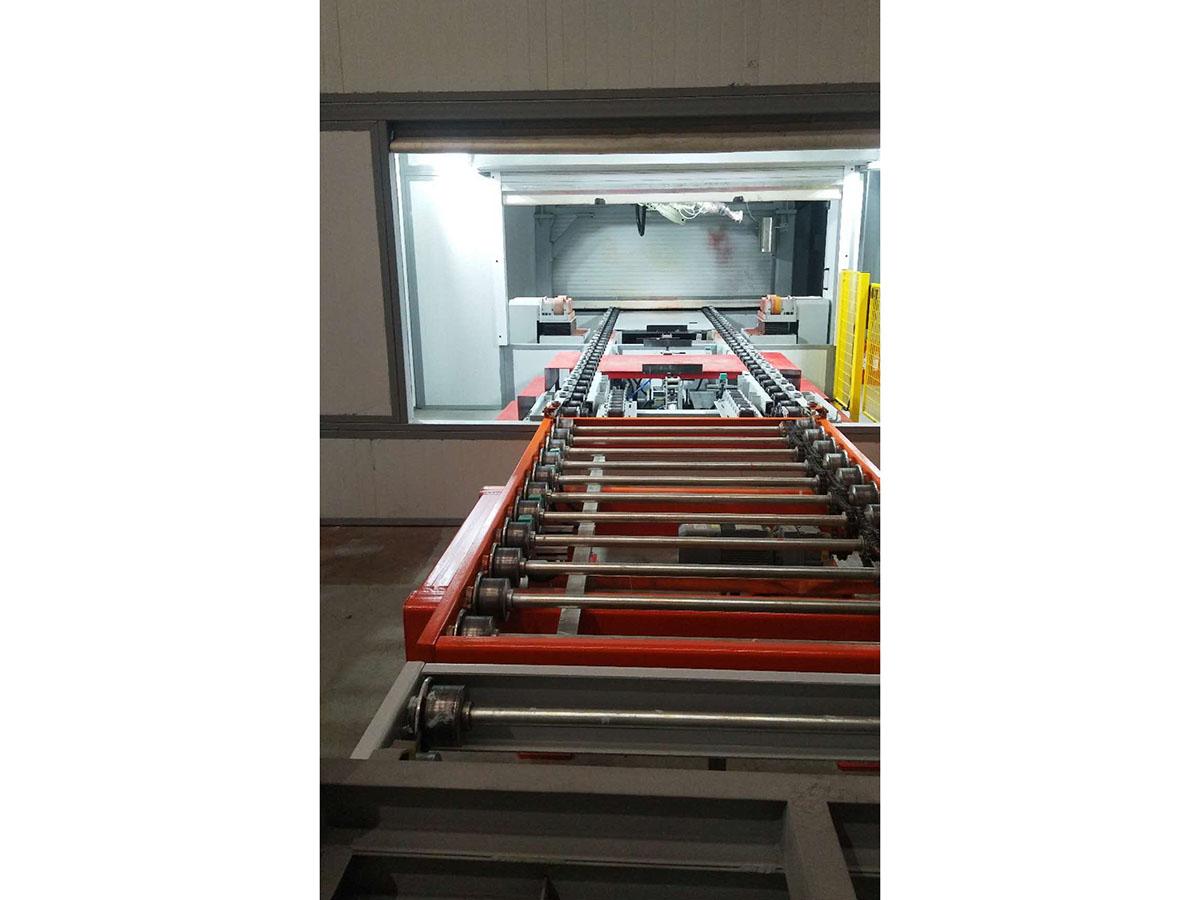 DWJ100重型地面積放式輸送機