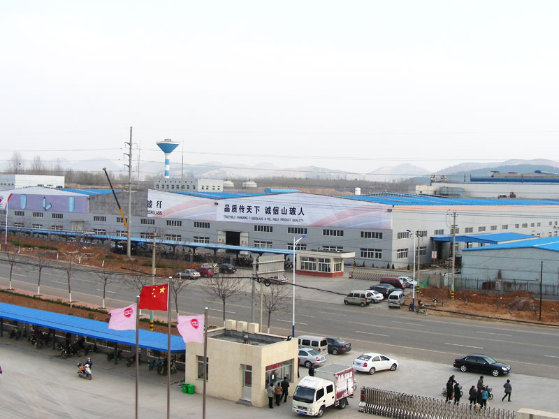 山東格賽博玻纖科技有限公司聯合廠房