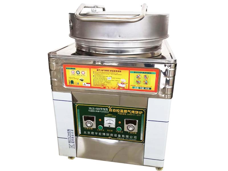 自動控溫燃氣烤餅爐