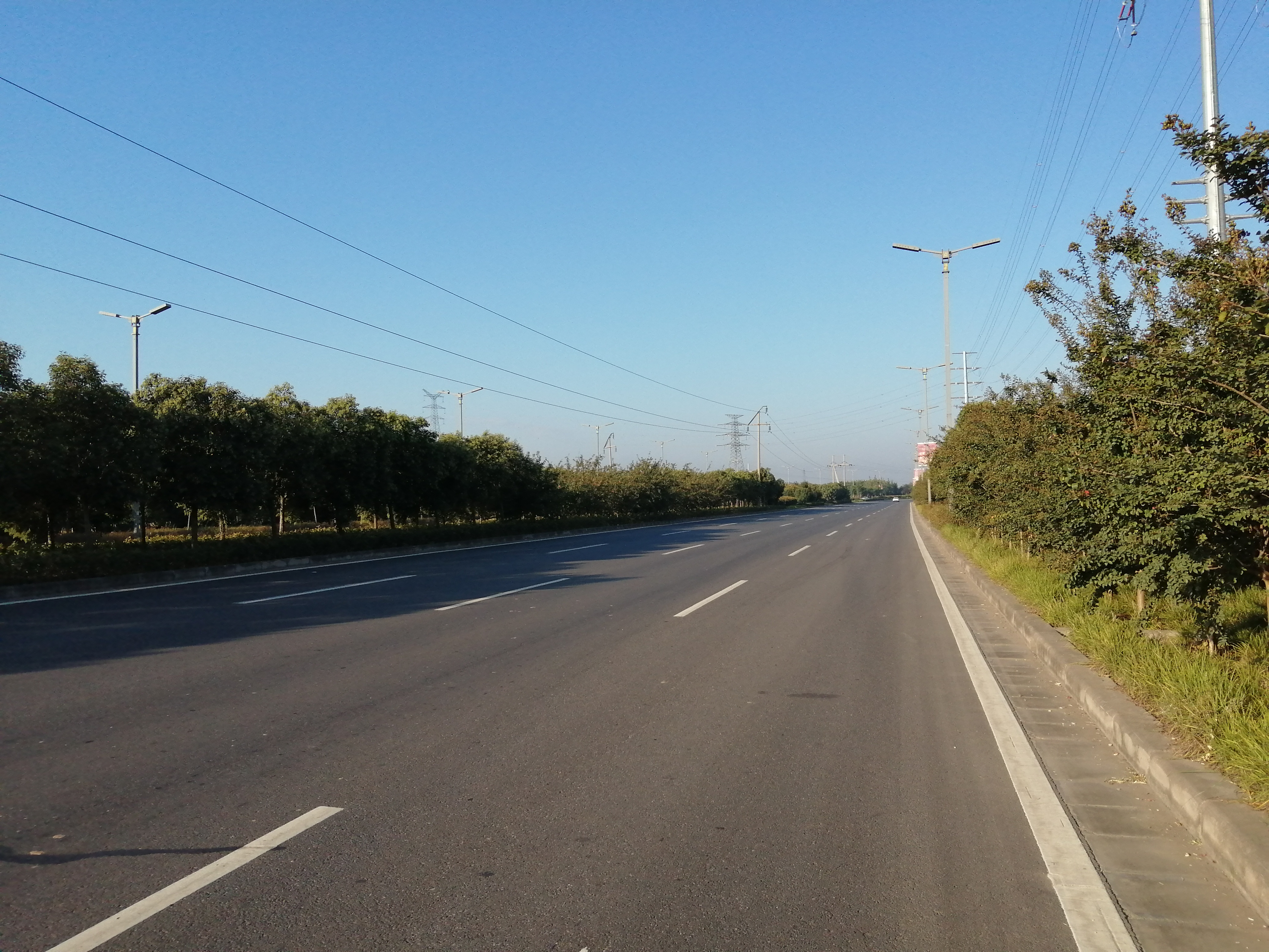 公路工程現場