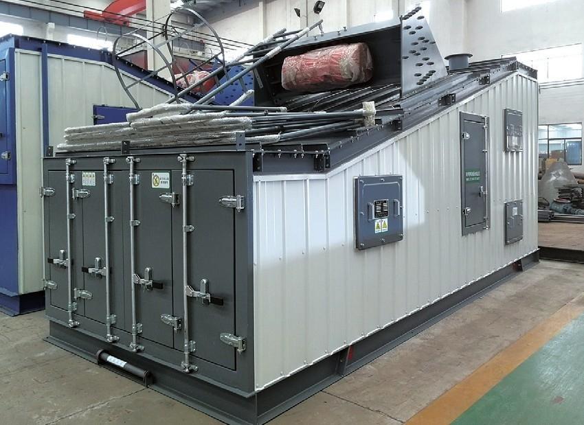 J4000XC(下置仓)集装箱式沥青混合料搅拌设备