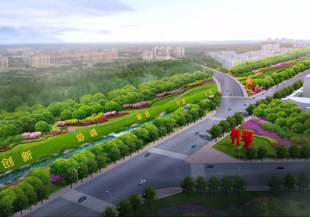鄲城縣洺河生態水系黑臭水體治理與環境景觀提升工程