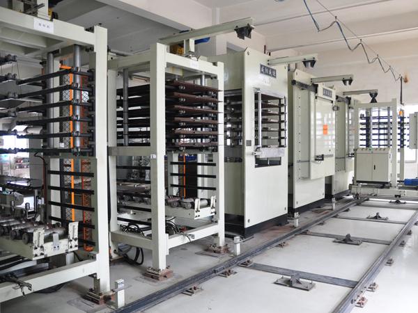 260T vacuum press