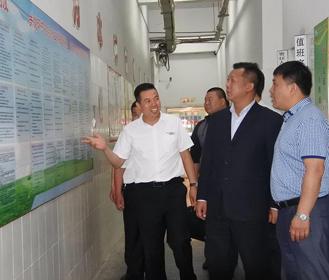 江蘇省餐飲協會領導指導工作
