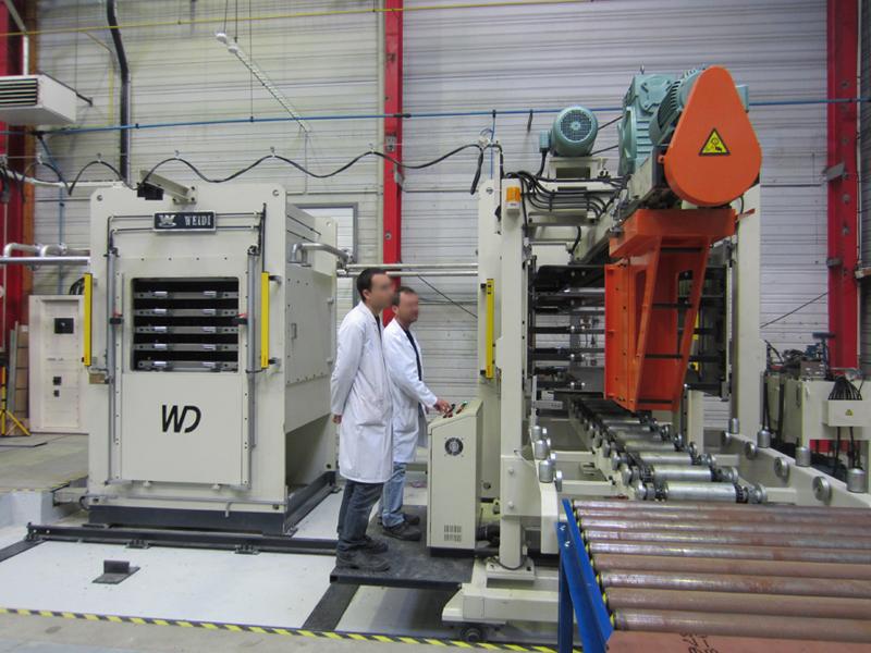 300T vacuum press