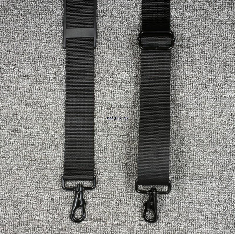 黑色涤纶背包肩带