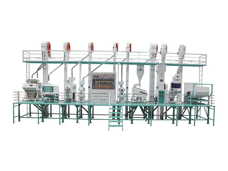 CTNM40型自动化成套碾米设备