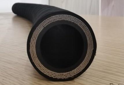 25-4高壓纏繞膠管橫切面
