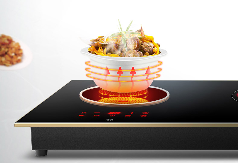 What is the heating plate of the electric ceramic stove?