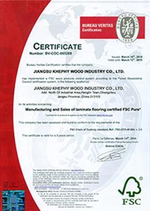 歐盟FSC認證