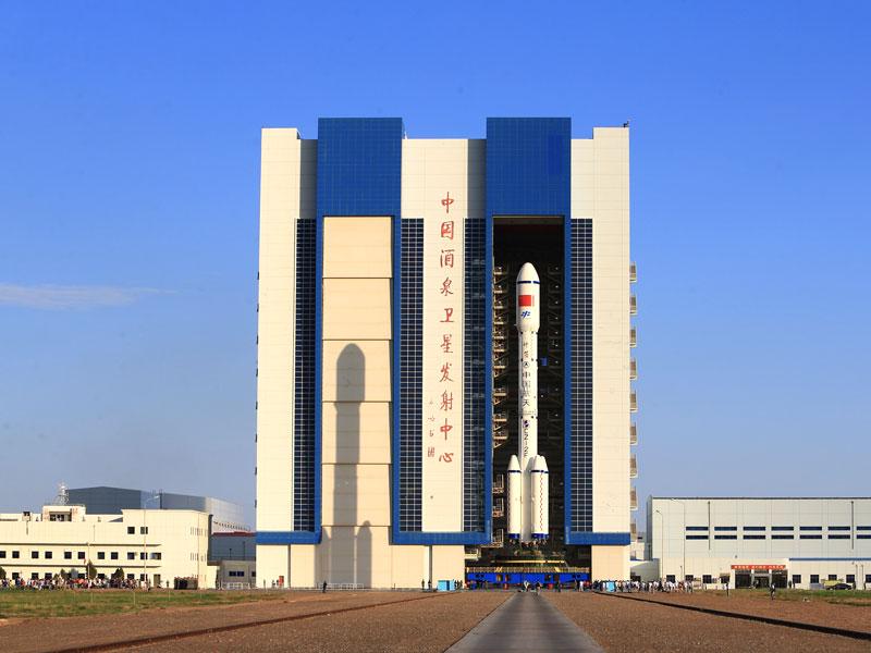 甘肅酒泉衛星發射中心