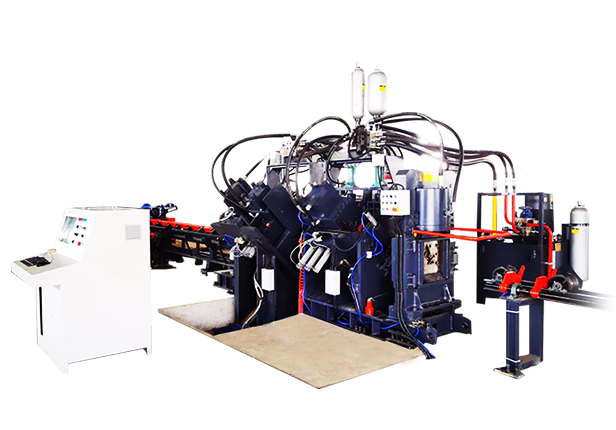 CJNC系列数控槽钢打字冲孔剪切生产线