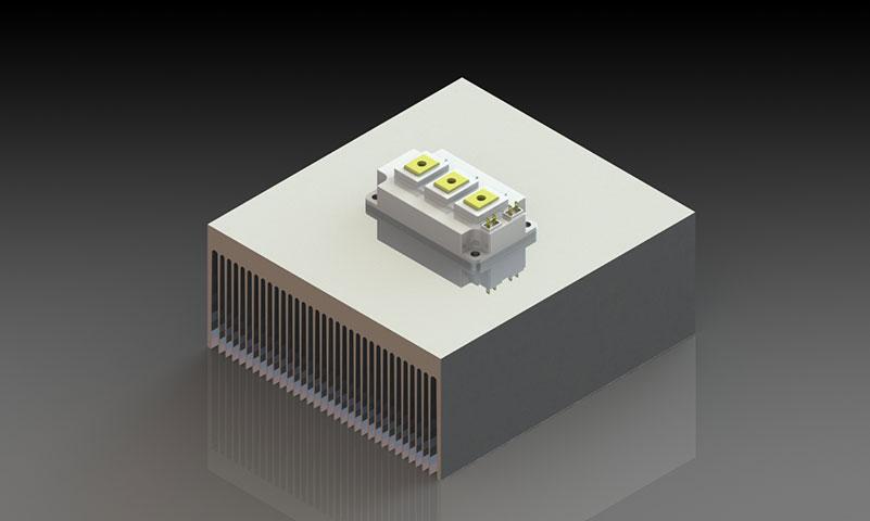 密齒系列散熱器