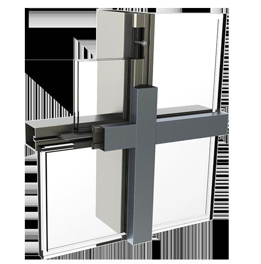 精細鋼型材幕墻系統