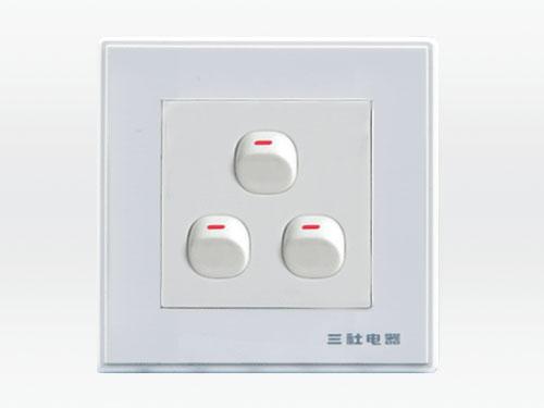 10A 250V~三位單控開關