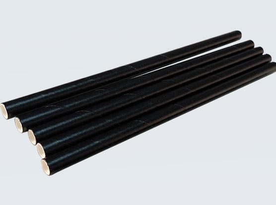 紙質吸管黑色