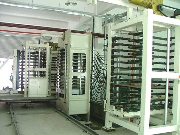 2000T-12 layer insulation board press unit