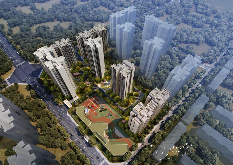中核城?城市之光一號一期項目室外景觀綠化工程及道路排水工程
