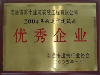 2004年度優秀企業