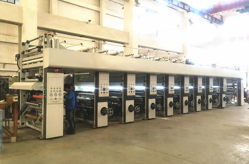 DLY系列电子轴凹版印刷机