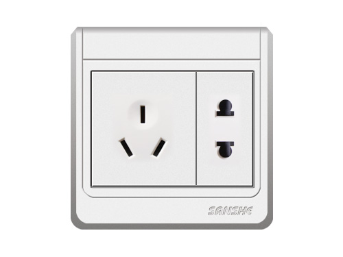 S-A6.0 二極插座+多用插座