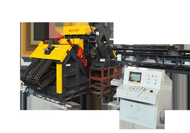JNCG系列高速数控角钢打字钻孔生产线