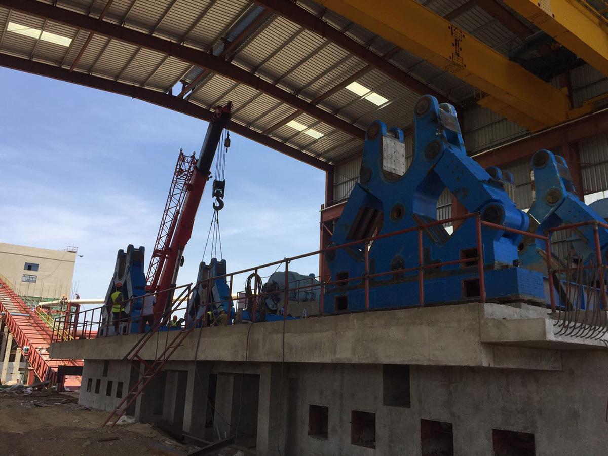 2019埃塞俄比亞貝雷斯1號糖廠12000TCD續建項目壓榨機及潤滑系統設備供貨